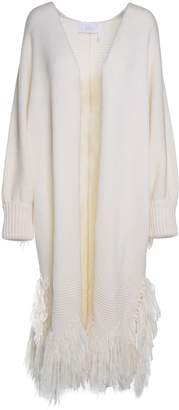 See by Chloe Fringed-trim Virgin-wool Coat