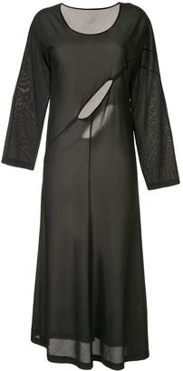 Comme des Garcons Pre-Owned cut-out dress