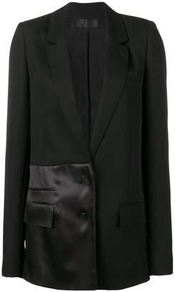 Haider Ackermann long panelled blazer