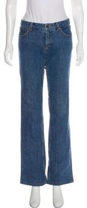 Louis Vuitton Mid-Rise Wide-Leg Jeans