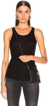 AG Adriano Goldschmied Ebby Tank in True Black | FWRD