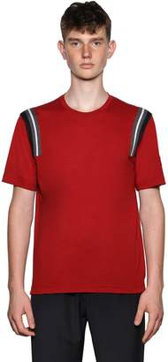 Ermenegildo Zegna Techmerino Wool T-Shirt W/Knit Details