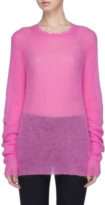 Helmut Lang Raw edge sweater