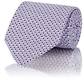 Ralph Lauren Purple Label MEN'S DOT-PATTERN SILK NECKTIE-PURPLE