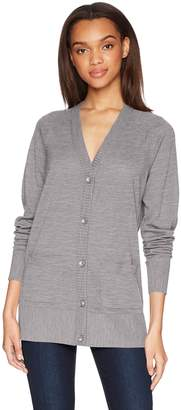 Pendleton Women's Lightweight Merino Wool Cardigan Sweater