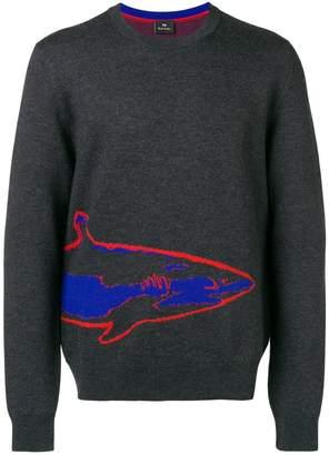 Paul Smith shark jacquard logo sweater