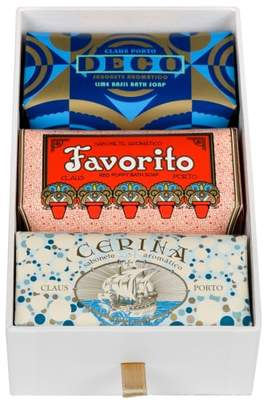 Claus Porto Deco - Favorito, Deco & Cerina Soap Trio
