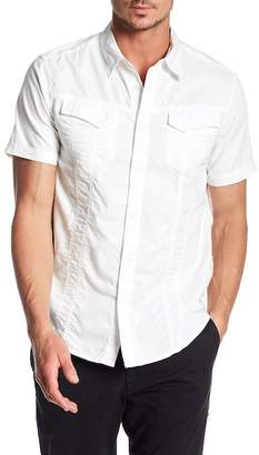 William Rast Oak Short Sleeve Regular Fit Button Down