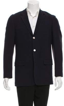 Cerruti Wool Three-Button Blazer