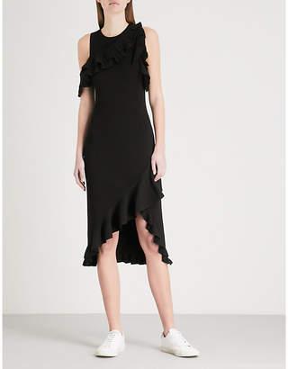 A.L.C. Kellam ruffled stretch-knit dress
