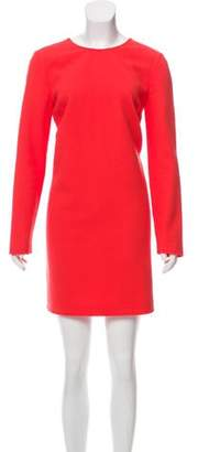 Victoria Beckham Long Sleeve Mini Dress