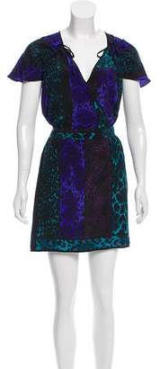 Yumi Kim Printed Silk Dress