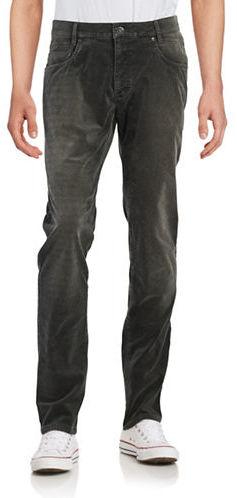BugattiBugatti Textured Cotton-Blend Pants