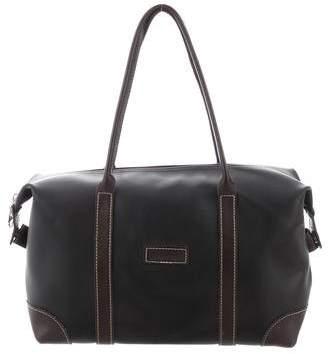Longchamp Gray Leather Handbags - ShopStyle a45a908eb5420