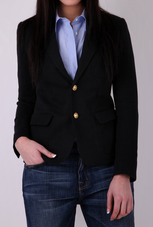 Ralph Lauren Black Custom RL Blazer