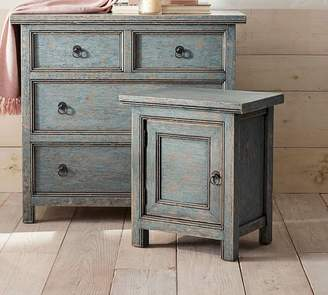 At Pottery Barn · Pottery Barn Molucca Nightstand