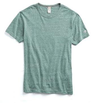 Todd Snyder + Champion Japanese Triblend Tee in Green