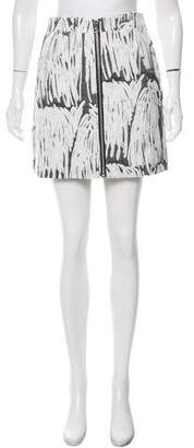 Opening Ceremony Jacquard Mini Skirt