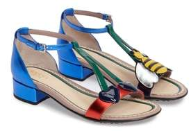 Gucci Bee & Cherry Sandal