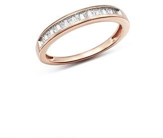 Bloomingdale's Diamond Tapered Baguette Channel Band in 14K Rose Gold, 0.15 ct. t.w. - 100% Exclusive