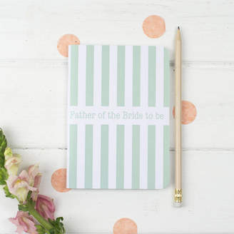 STUDY the green gables Father Of The Bride To Be Notebook