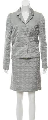 Fendi Qulited Skirt Set
