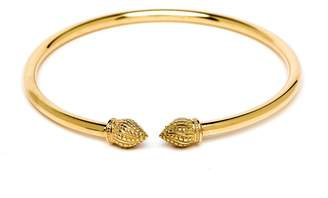 Durrah Jewelry - Gold Cylinder Bangle