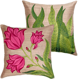 Monsoon And Beyond Oasis & Desert Flower Cushion Covers Set