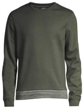 A.P.C. Jeremie Cotton Sweatshirt