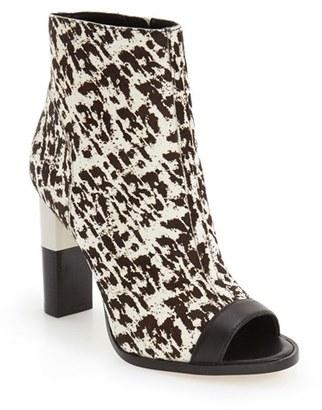 Women's Calvin Klein 'Krizia' Peep Toe Bootie $239.95 thestylecure.com
