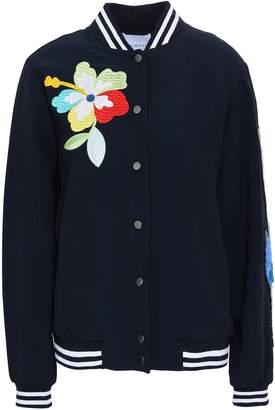 Mira Mikati 装飾付き 刺繍入り クレープ ボンバージャケット