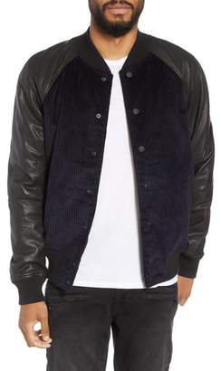 Hudson Leather Varsity Jacket