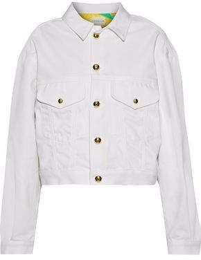 Simon Miller Togo Cropped Denim Jacket
