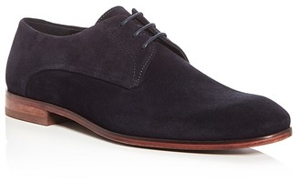 Hugo Boss Plain Toe Derby Oxfords $275 thestylecure.com