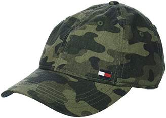 Tommy Hilfiger Men's Dad Hat Billy Corner Flag Cap