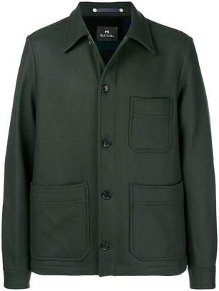 Paul Smith single-breasted fitted coat