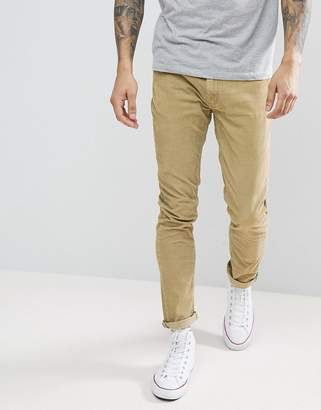 Rollas Cord Jeans In Camel