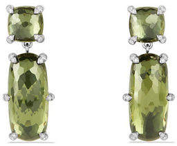 David Yurman Châtelaine Faceted Drop Earrings with Diamonds