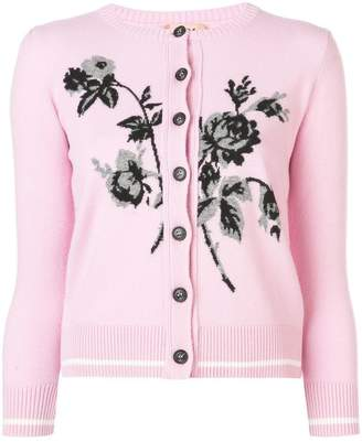 No.21 knot flower patch cardigan