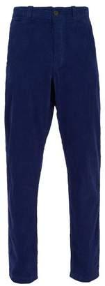 Saturdays NYC Field Cotton Corduroy Trousers - Mens - Blue