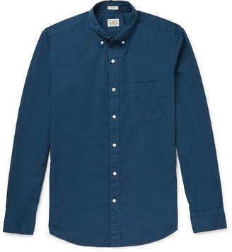 J.Crew Garment-Dyed Stretch-Cotton Poplin Shirt