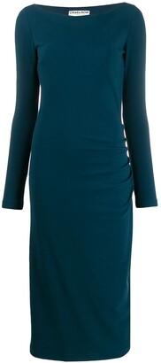 Chiara Boni Le Petite Robe Di ruched waist dress