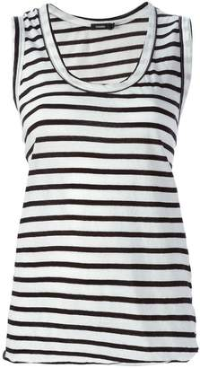 Bassike striped tank top
