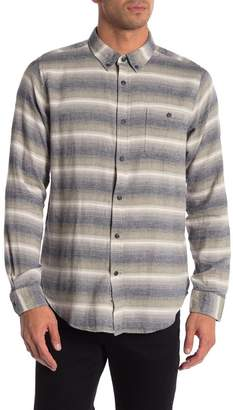 Ezekiel Breeze Striped Woven Long Sleeve Shirt