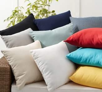 Pottery Barn Sunbrella®; Solid Indoor/Outdoor Pillow