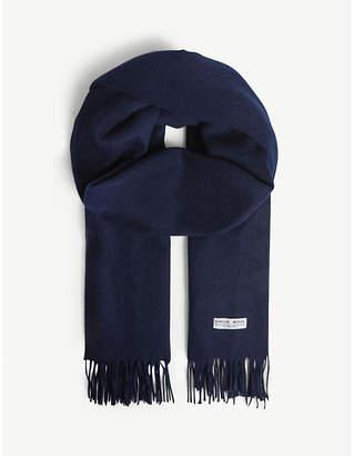 Claudie Pierlot Alaska solid virgin wool scarf