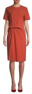 HUGO BOSS Harema Short-Sleeve Shift Dress