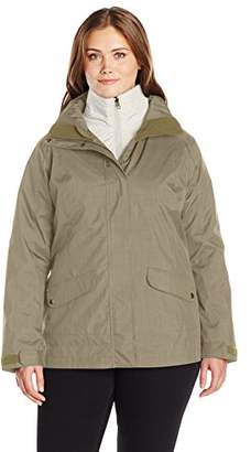 Columbia Women's Plus-Size Sleet to Street Interchange Jacket Plus