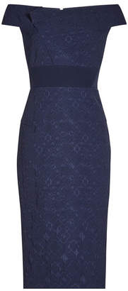 Roland Mouret Midi Dress with Cotton
