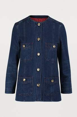 e13aaaf4 Gucci Women's Denim Jackets - ShopStyle